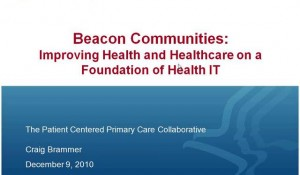 CeHIA Webinar: Successful IT and PCMH Recognition Implementation