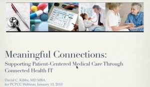 Meaningful Connections: Supporting Patient-Centered Medical Care Through Connected Health IT