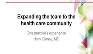 Care Coordination: Expanding the Team to the Healthcare Community: The Experience of a PCMH