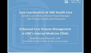 Care Coordination: Lessons Learned from the UNC Chapel Hill Internal Medicine Clinic