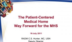 Christine Hunter on TRICARE and the PCMH