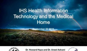 Health Information Technology and the PCMH Model for Indian Health