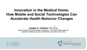 Innovation in the Medical Home: How Mobile and Social Technologies Can Accelerate Health Behavior Changes