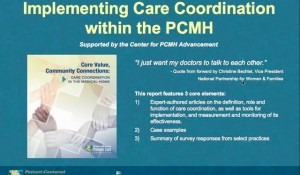 Implementing Care Coordination Within the PCMH Model