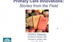 Primary Care Innovations: Stories from the Field
