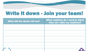 Patient Note Sheet