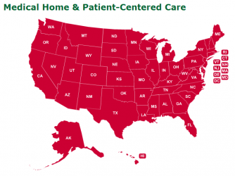 Medical home model affordable care act
